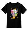 """Детская футболка классическая унисекс """"Adventure time"""" - adventure time, время приключений"""
