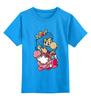 """Детская футболка классическая унисекс """"Mario (Princess Peach)"""" - платье, марио, mario bros, принцесса пич"""