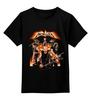 """Детская футболка классическая унисекс """"Metallica - fan-art"""" - metallica, original, тур, оригинальный рисунок, 2015"""