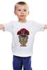 """Детская футболка классическая унисекс """"М. Байсон (Уличный Боец)"""" - уличный боец, street fighter, bison, байсон"""