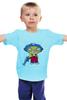 """Детская футболка классическая унисекс """"Гриффины"""" - стьюи, family guy, гриффины, stewie griffin"""