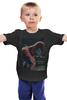 """Детская футболка классическая унисекс """"Spider-Man"""" - spider-man, человек-паук"""
