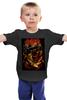 """Детская футболка классическая унисекс """"Slayer thrash metal band"""" - skull, череп, heavy metal, slayer, thrash metal, трэш-метал"""