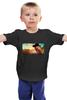 """Детская футболка классическая унисекс """"CHUCK NORRIS"""" - chuck norris, чак норрис, круче, звезда боевиков"""