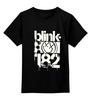 """Детская футболка классическая унисекс """"blink-182 smile shirt"""" - blink-182, ava, blink182, angels and airwaves"""