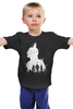 """Детская футболка классическая унисекс """"Готэм"""" - batman, супергерои, бэтмен, gotham, готэм"""
