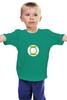 """Детская футболка классическая унисекс """"Зеленый фонарь"""" - the big bang theory, теория большого взрыва, шелдон купер, тбв, paramount comedy"""