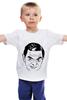 "Детская футболка классическая унисекс ""футболка ""Мистер Бин"""" - прикол, портрет, мистер бин"