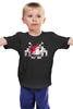 """Детская футболка """"Космический Захватчик"""" - космический захватчик, видеоигры, space invader, аркада"""