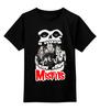 """Детская футболка классическая унисекс """"Misfits band"""" - punk rock, misfits, анархия, панк, anarchy"""