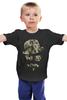 """Детская футболка """"Хипстер"""" - 23 февраля, армия, хипстер, усы, камуфляж"""
