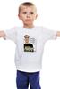 """Детская футболка классическая унисекс """"Мозг—лучший мускул! Сильвестр Сталлоне"""" - 23 февраля, сталлоне, рембо, рокки, сильвестр сталлоне"""