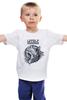 """Детская футболка """"The cat"""" - кот, rose, cat, розы, animal, животное"""