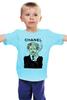 "Детская футболка ""Chanel"" - прикол, юмор, духи, бренд, fashion, brand, brad pitt, шанель, perfume, karl lagerfeld"