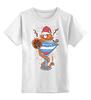 """Детская футболка классическая унисекс """"New year!"""" - новый год"""