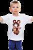 "Детская футболка ""Русский олимпийский мишка"" - спорт, олимпиада, мишка"