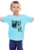 """Детская футболка классическая унисекс """"Мастер каратэ"""" - кот, cat, каратэ, мастер"""