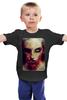 """Детская футболка """"Zomdie"""" - zombie, зомби, girl, ходячие мертвецы, the walking dead"""