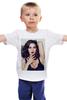 """Детская футболка классическая унисекс """"моника белуччи"""" - эротика, красотка, моника белуччи, моника, белуче"""