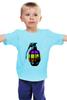 """Детская футболка классическая унисекс """"Color Grenade """" - рисунок, grenade, граната, colorful, лимонка"""