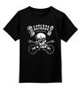 """Детская футболка классическая унисекс """"Los Bastardos Finlandeses"""" - skull, череп, music, metal, рок, rock, heavy metal, hard rock, фанат, метал"""