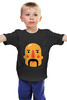 "Детская футболка ""Борода IV"" - борода, усы, mustache"