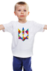 """Детская футболка классическая унисекс """"Ukraine"""" - ukraine, украина"""