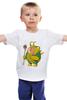 """Детская футболка классическая унисекс """"Fat Aquaman"""" - обжорство, aquaman, аквамен"""
