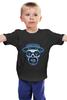 """Детская футболка классическая унисекс """"Гейзенберг Череп"""" - skull, череп, во все тяжкие, breaking bad, гейзенберг, heisenberg, calavera, калавера, sugar"""