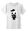 "Детская футболка классическая унисекс ""Mustahes Death by Shaurmaster"" - борода, усы, beard, бородачи, отпускаем бороду, усачи, borodachi, mustaches, beardart, beard4fun"