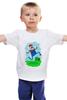 "Детская футболка классическая унисекс ""Марио (Mario)"" - nintendo, mario, марио"