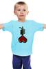 """Детская футболка классическая унисекс """"Love Noose"""" - сердце, любовь, heart, петля, noose"""