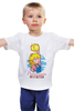"""Детская футболка классическая унисекс """"Принцесса Пич (Марио)"""" - марио, princess peach"""