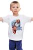 """Детская футболка """"Новогодний принт 2015 – С Годом Козы!"""" - happy new year, новый год, winter, зима, дом, семья, снег, 2014, барашек, баран"""