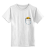"Детская футболка классическая унисекс ""Adventure Time Jake"" - adventure time, jake"