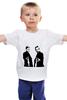 """Детская футболка классическая унисекс """"Святые из бундока"""" - святые из бундока, boondock saints, veritas, aequitas, бундок"""