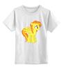 """Детская футболка классическая унисекс """"pony"""" - mlp"""