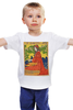 "Детская футболка ""ретро постер"" - арт, ретро, иллюстрация, постер, афиша"