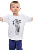 """Детская футболка классическая унисекс """"Чумной доктор"""" - череп, смерть, чумной доктор, чума"""
