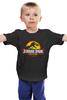"""Детская футболка """"Jurassic Park / Парк Юрского Периода"""" - динозавры, афиша, парк юрского периода, jurassic park, kinoart"""