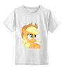 """Детская футболка классическая унисекс """"Футболка MLP"""" - pony"""