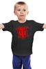 """Детская футболка классическая унисекс """"World of Tanks logo """" - games, игры, игра, game, логотип, world of tanks, танки, wot, tanks"""