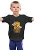 "Детская футболка классическая унисекс ""аудиокассета"" - music, приколы, sex, 80's, mc, cassette tape, compact, компакт"