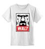 "Детская футболка классическая унисекс ""Уолтер Уайт"" - obey, во все тяжкие, breaking bad, walter white, heisenberg"