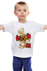 "Детская футболка классическая унисекс """"OST"" Print tattoo"" - tattoo, тату, розы, roses, oleyniksartattoo"