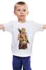 """Детская футболка классическая унисекс """"Кхалиси и хорьки"""" - игра престолов, game of thrones, дейенерис таргариен, кхалиси"""