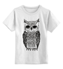"""Детская футболка классическая унисекс """"Совы не те, кем кажутся"""" - сова, twin peaks, owl, твин пикс, кем кажутся, совы не те кем кажутся"""