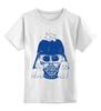 """Детская футболка классическая унисекс """"добрый вейдер"""" - добрый, star wars, darth vader, котята, звездные войны, дарт вейдер, kittens"""