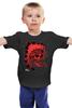 """Детская футболка классическая унисекс """"Skull"""" - ужас, индеец, перья, индейцы, черп, дикий запад"""