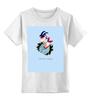"""Детская футболка классическая унисекс """"Козерог"""" - козерог, знак зодиака"""